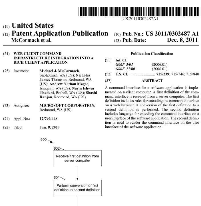 Crm Ui Runtime Error Links To Microsoft Patent Application