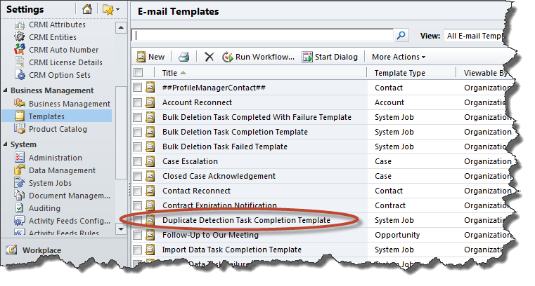 Duplicate Detection Task Completion Template - CRM Innovation ...