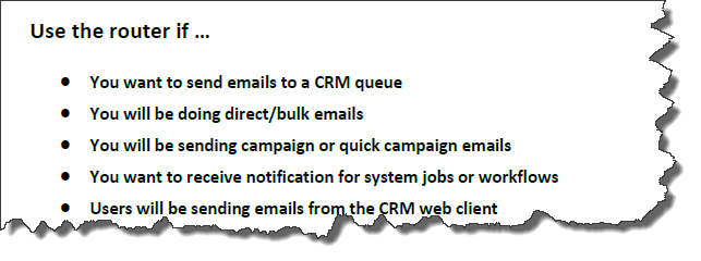 CRM 2011 Email Router - Do I need it?