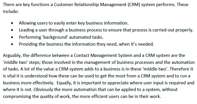 Microsoft Dynamics CRM vs Contact Management Software
