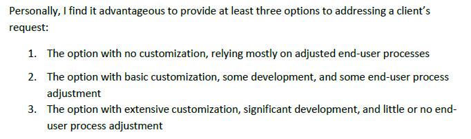 Microsoft Dynamics CRM Customer Best Practices