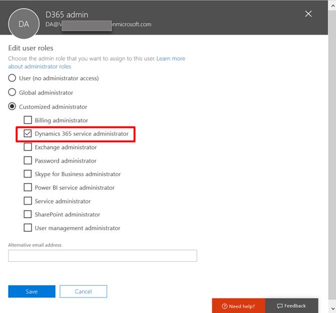 Dynamics 365 service admin role - CRM Innovation - Microsoft