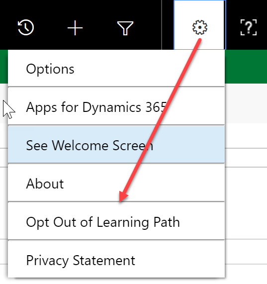 How to enable Microsoft Dynamics 365 Learning Path Help