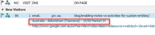 Dynamics CRM Tasmania User