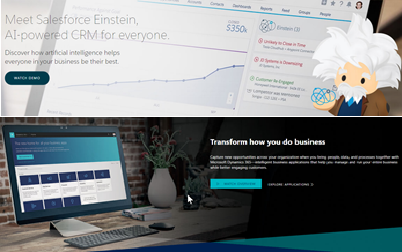 Salesforce vs Microsoft Dynamics 365