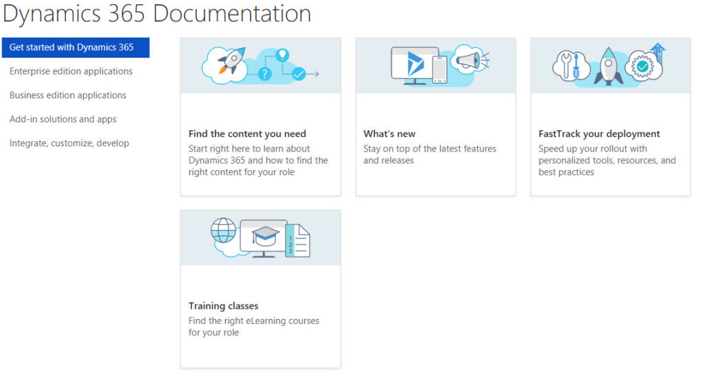 Dynamics 365 Documentation