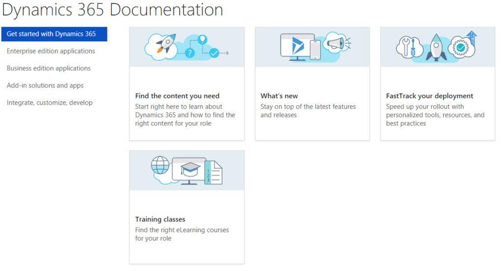 Dynamics 365 Documentation