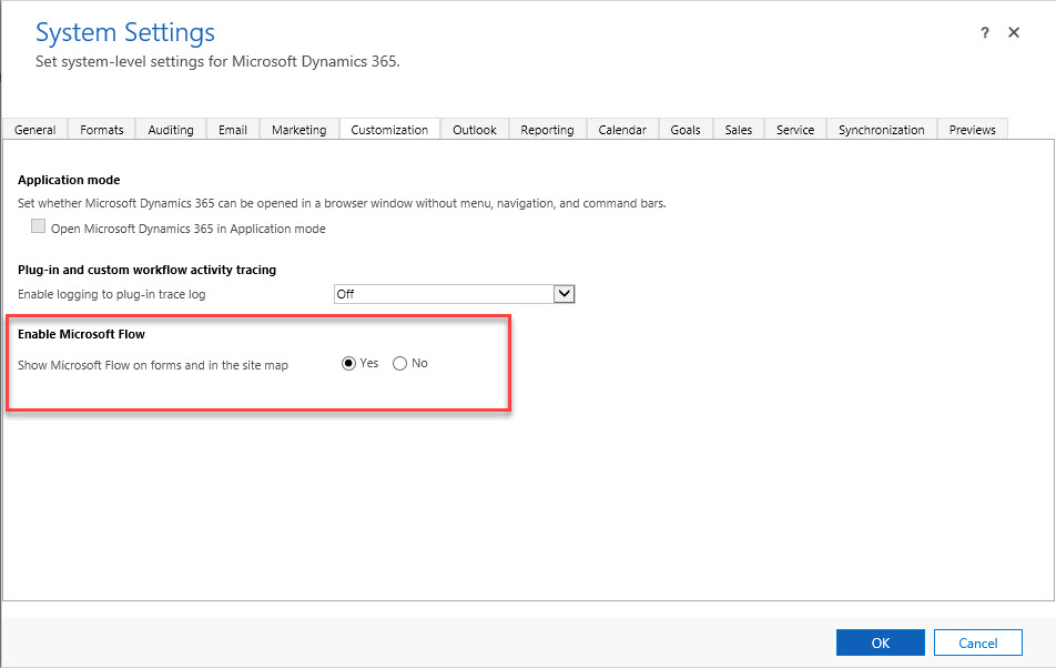 Dynamics 365 Site Map And Microsoft Flow