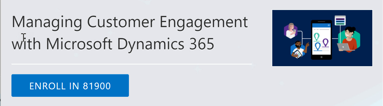 Managing Customer Engagement With Microsoft Dynamics 365