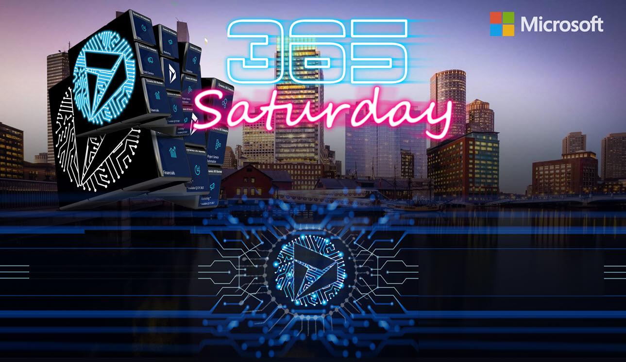 Dynamics 365 Saturday Presentations