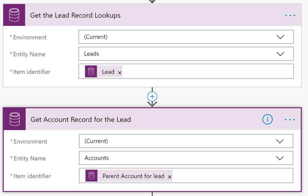 Microsoft Flow CDS Trigger Get a Record