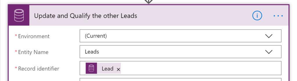 Microsoft Flow Update Lead