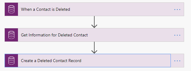 Microsoft Flow Deleted Record Trigger