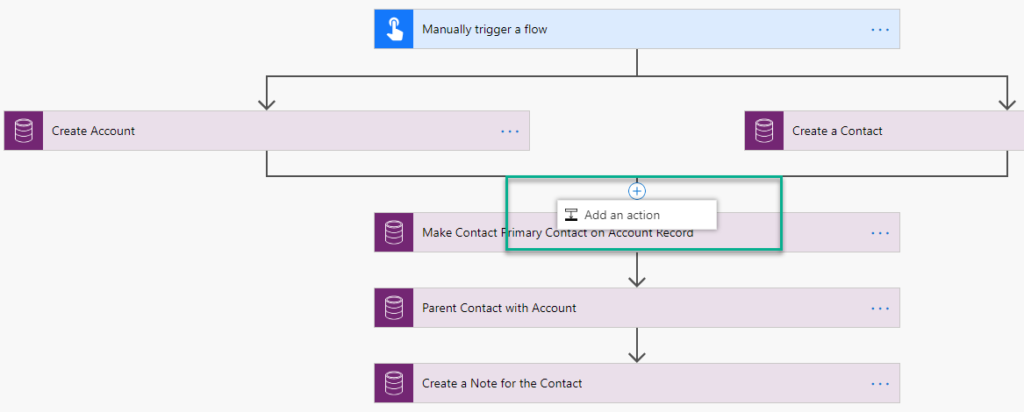 Microsoft Flow Missing Add Parallel Branch