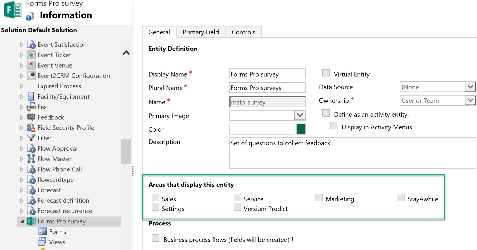 Forms Pro In The Unified Interface