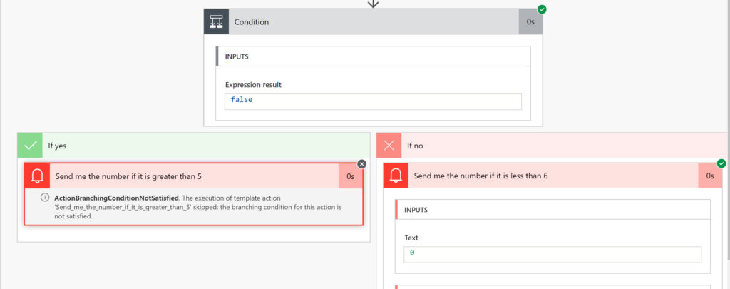 Power Automate Flow Condition Check